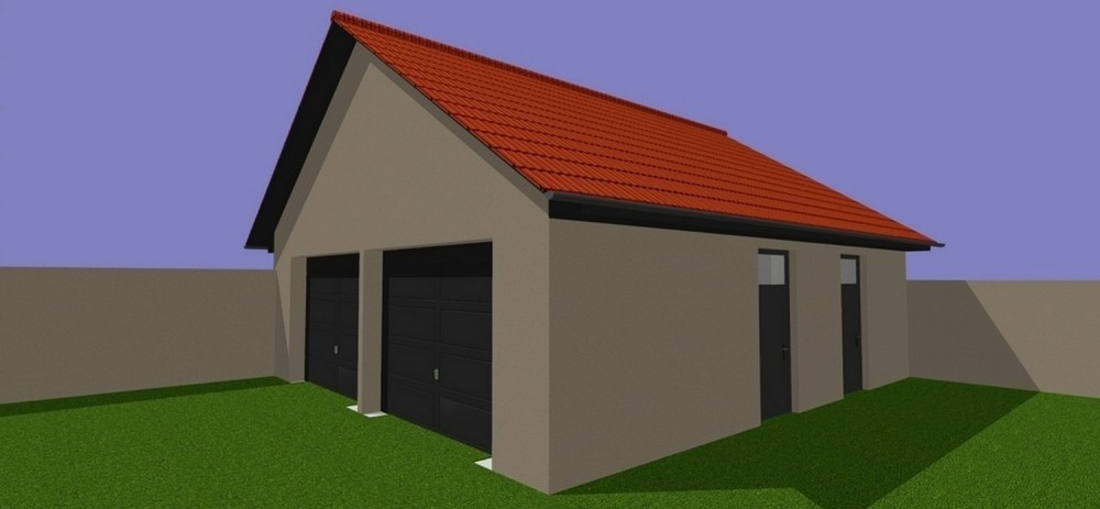 Amenagement et decoration toulouse 001 decoration interieur atelier helen b construction garage projet 3D vue exterieure