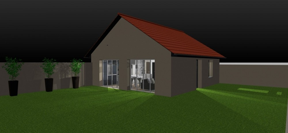 Amenagement et decoration toulouse 003 decoration interieur atelier helen b projet 3D transformation garage habitation haut de gamme design
