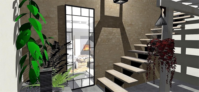 Atelier helen b authenticit d 39 une maison de famille et - Loft industriel design eclectique reiko feng shui ...