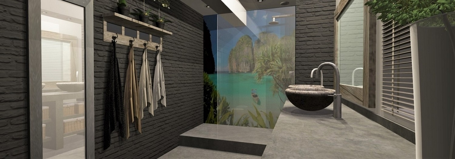 trompe l oeil salle de bain good trompe l oeil salle de bain amazing dcoration sol trompe. Black Bedroom Furniture Sets. Home Design Ideas