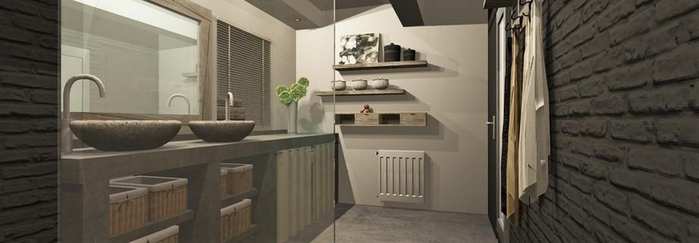 Atelier helen b r novation d 39 une salle de bain - Salle de bain style atelier ...