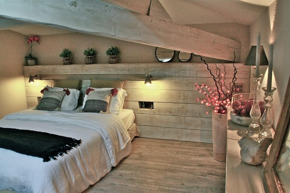 Atelier helen b une chambre nature et elegante - Decoration interieur chambre adulte ...