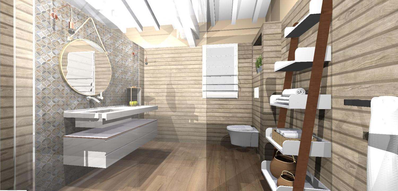 Aménagement Intérieur Salle Bain atelier helen b - agencement, aménagement et décoration d